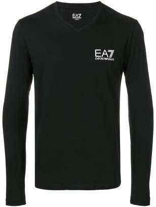 Emporio Armani Ea7 V neck sweatshirt