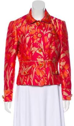 Dolce & Gabbana Jacquard Button-Up Jacket