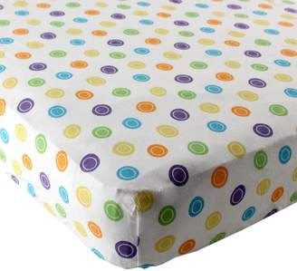 Luvable Friends Geometric Print Fitted Knit Crib Sheet, Colors