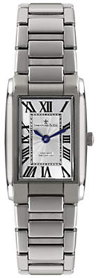 Dreyfuss & Co Women's Seafarer Stainless Steel Bracelet Strap Watch