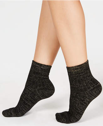 INC International Concepts I.n.c. Cozy Ribbed Shimmer Socks, Created for Macy's