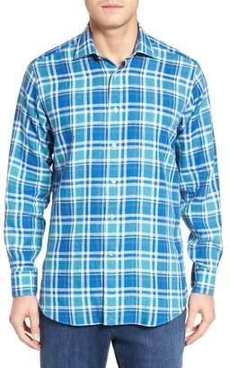 Robert Talbott Crespi IV Tailored Fit Sport Shirt