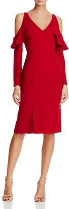 Adelyn Rae Sheila Cold-Shoulder Dress