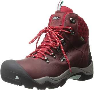 Keen Women's Revel III Hiking Boots, Racing Red/Eggshell