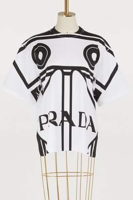 Prada Oma Robot oversized T-shirt