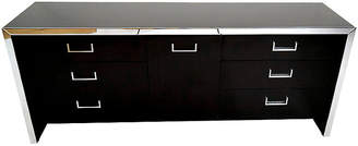 One Kings Lane Vintage Midcentury Chrome Chest of Drawers - Castle Antiques & Design