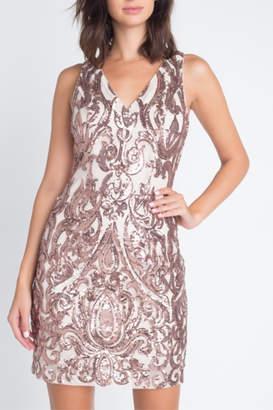 Minuet Sequin Cocktail Dress