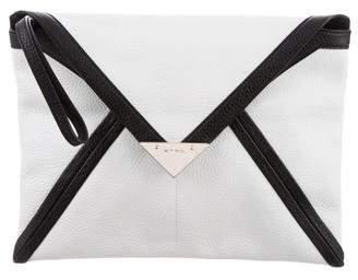 Etro Leather Envelope Clutch