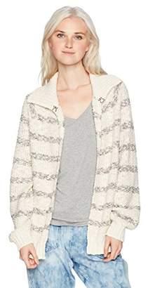 O'Neill Women's Marina Stripe Cardigan Sweater