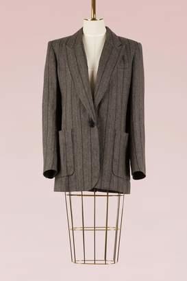 Isabel Marant Linen and Virgin Wool Kern Jacket