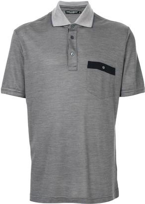 Dolce & Gabbana short sleeved polo shirt