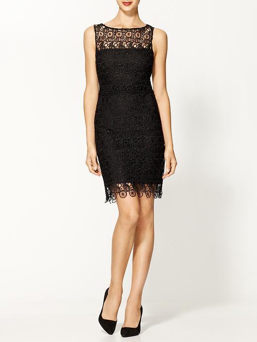 BB Dakota Sheath Lace Dress