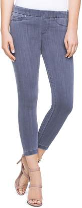 Liverpool Chloe Notch Crop Skinny Jeans in Crater