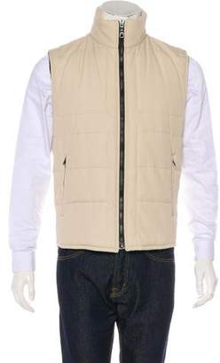 Burberry Quilted House Check-Lined Vest