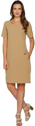 Linea By Louis Dell'olio by Louis Dell'Olio Gauze Pull-Over Dress