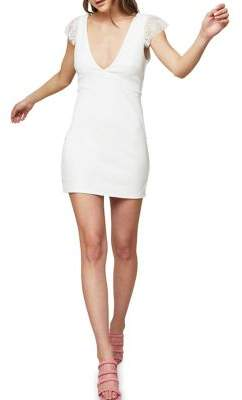 Miss Selfridge V-front Bodycon Dress