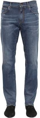 Dolce & Gabbana 16.5cm Stretch Cotton Denim Jeans