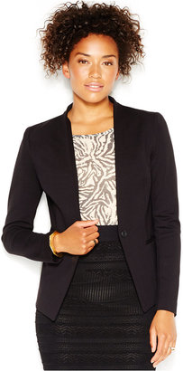 RACHEL Rachel Roy Collarless Ponte Blazer, Only at Macy's $109 thestylecure.com