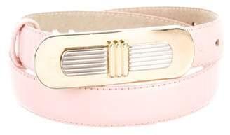 Christian Dior Leather Hip Belt