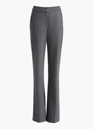 St. John Melange Flannel Jersey Pants