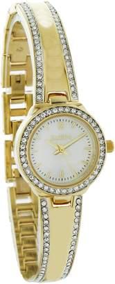 Elgin Women's Two-Tone Half Bangle Watch and Bracelet Set EG16007