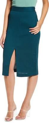 Endless Rose Corduroy Pencil Skirt