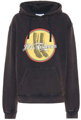 J.W.Anderson JWA Cola Boots cotton hoodie