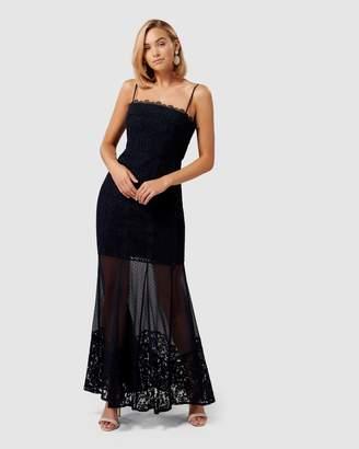 Forever New Abigail Lace Fishtail Dress