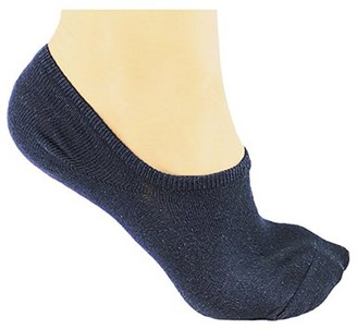 DL furniture 6 Pairs Cotton No Show Athletic Socks Thin Loafers Non Slip Boat Liners
