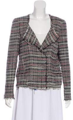 Etoile Isabel Marant Knit Raw-Edge-Trimmed Blazer