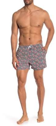 Trunks Bermies Vintage Surf Floral Swim Shorts
