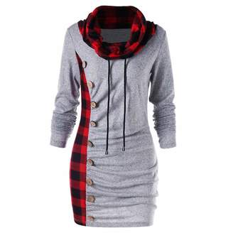 90c5ebd477d Auwer Women Hoodie Long Sleeve Sweatshirts for Teen Girls