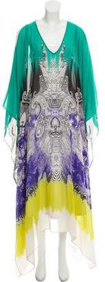 Etro Silk Swimsuit Cover-Up