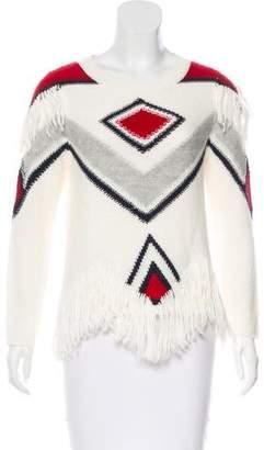 Antik Batik Alpaca-Blend Patterned Sweater