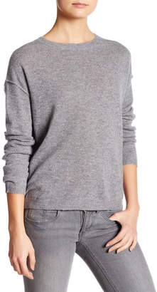 Inhabit Long Sleeve Cashmere Crew Neck Sweater $341 thestylecure.com