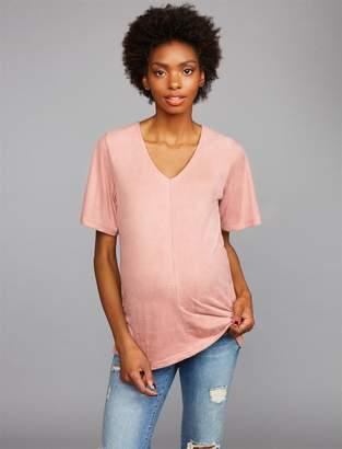 Z Supply Flutter Sleeve Maternity Top