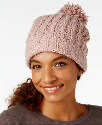 Ultrasoft Marcus Adler Ultra-Soft Boucle Pom Pom Hat