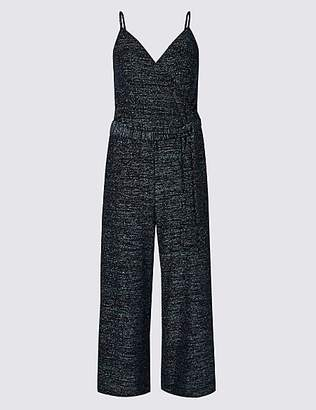 M&S Collection Sparkly Cropped Jumpsuit