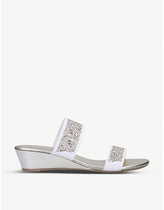 Carvela Comfort Sage sequin-embellished sandals