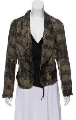 Edun Printed Silk Jacket