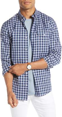 1901 Trim Fit Check Button-Down Shirt