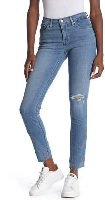 Levi's 311 Floral Embroidered Shaping Skinny Jeans