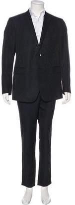 Etro Wool-Blend Jacquard Suit