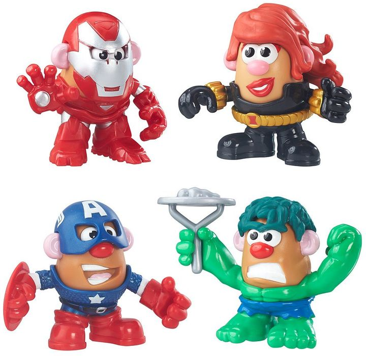 Playskool Marvel Mr. Potato Head Super Hero Rally Pack by Playskool Friends