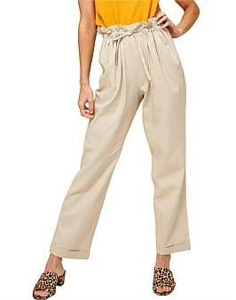 MinkPink At Ease Safari Cropped Pant