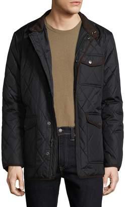 Hart Schaffner Marx Men's Mulberry Quilted Jacket