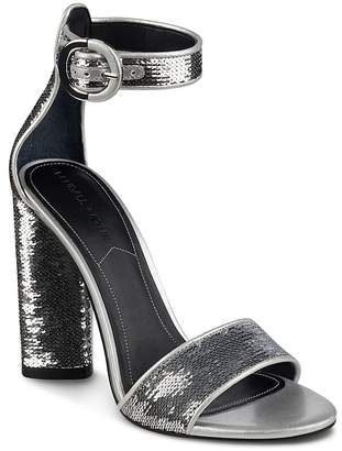 KENDALL + KYLIE Women's Giselle Sequined High-Heel Sandals