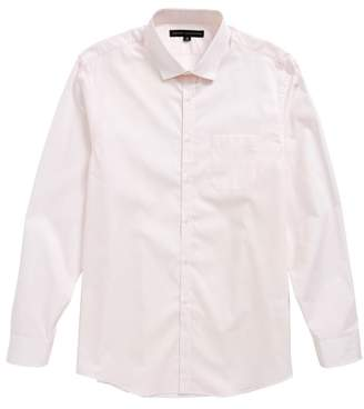 Report Collection Dot Print Dress Shirt
