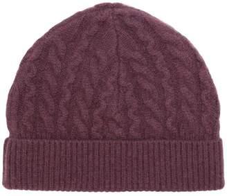 Aspesi cable knit beanie