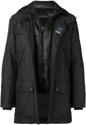 Fay layered technical jacket